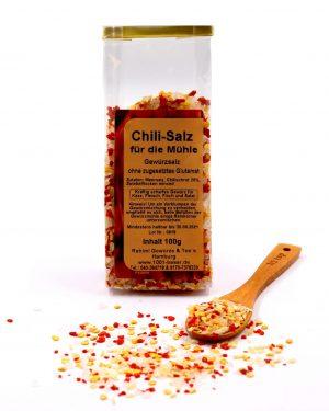 Chili-Salz für die Mühle