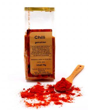 Chili gemahlen