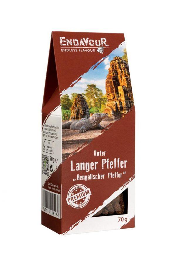 Langer Pfeffer - bengalisch - rot