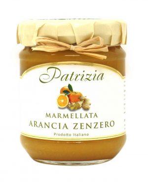Arancia Zenzero - Orange Ingwer - Fruchtaufstrich 180gr. - 1