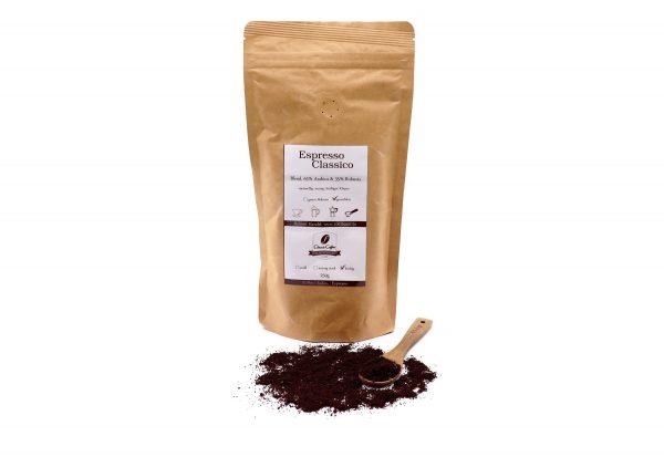 Kaffee Espreso Classico gemahlen