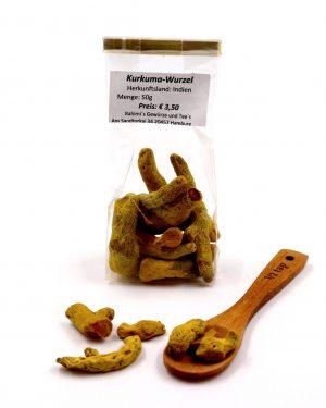Kurkuma-Wurzel, 50 g