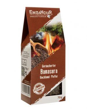 Banasura Hochland Pfeffer geräuchert, 70 g
