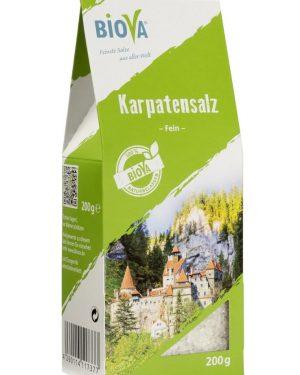 Biova Karpatensalz fein, 100 g