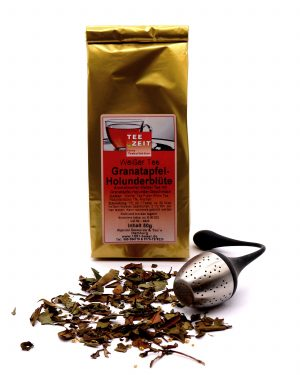 Tee - Weißer Tee Granatapfel-Holunderblüte