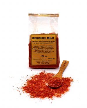Berbere mild, 100 g