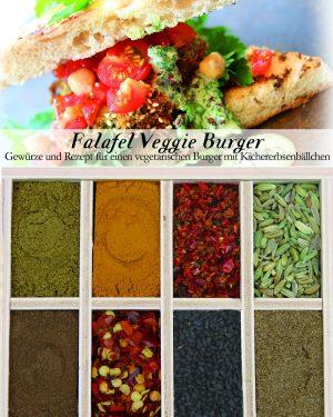 Gewürzkasten Falafel Veggie Burger