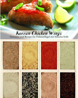 Gewürzkasten Korean Chicken Wings